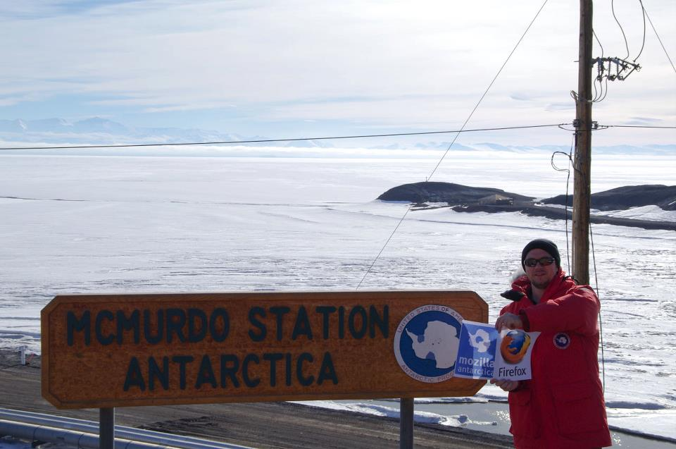 Mozilla Antarctica