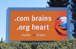 .org brains, .com heart