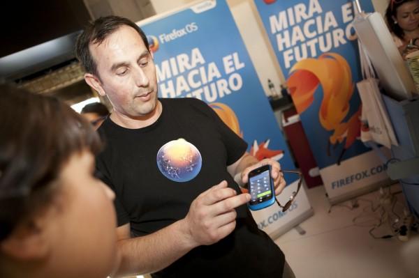 Antonio at the launch
