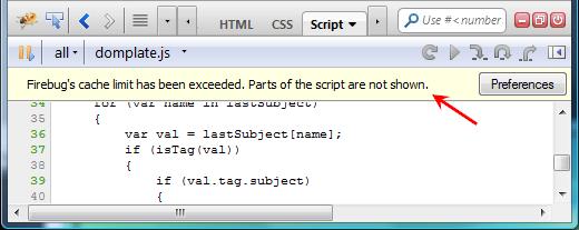 script-cachelimit