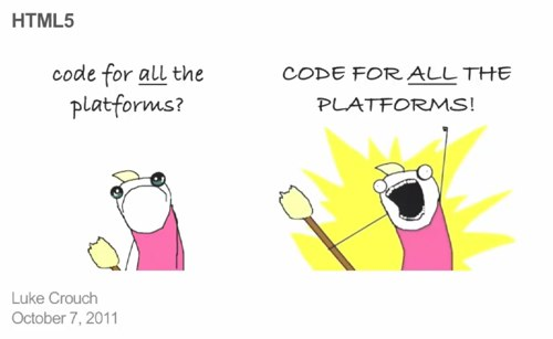Luke Crouch: Code for all the platforms