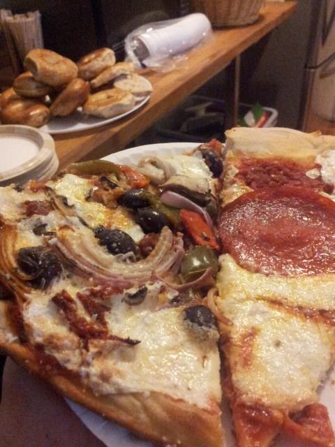 mmmm, pizza