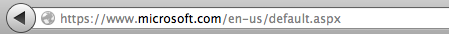 Nav bar with https (and unencrypted content)