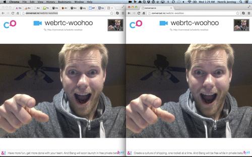 Webrtc Video Room Ionic