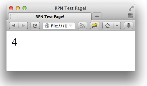 Screenshot of simple-example.rpn's result