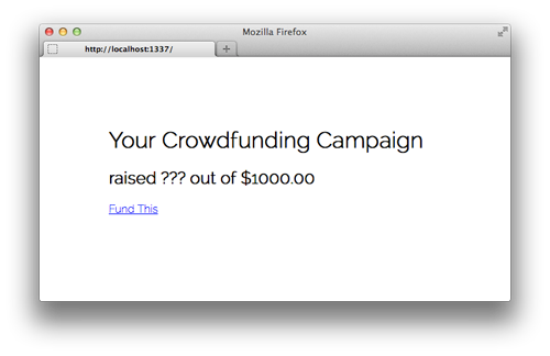 Crowdfunding Homepage 1