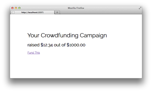 Crowdfunding Homepage 2