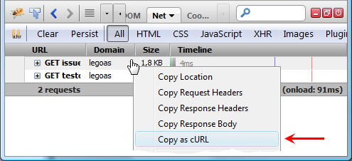 copy-as-curl