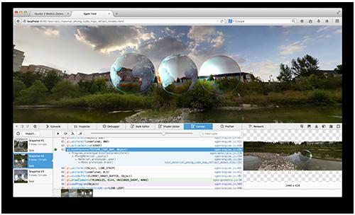 Canvas Debugger Screenshot
