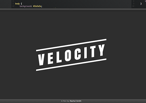 Velocity.js CodePen Demo
