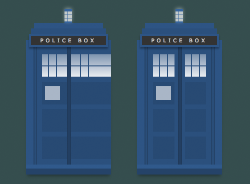 single div tardis in-process
