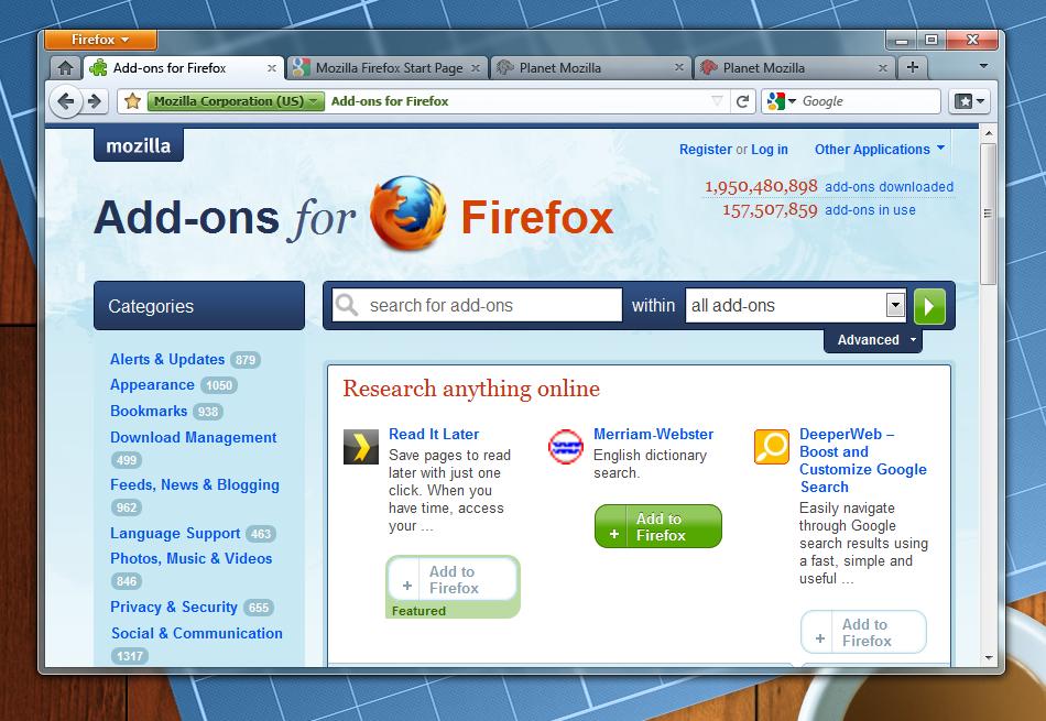 Firefox Main Window Study A Heatmap Visualization Blog
