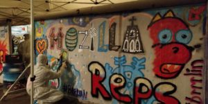 Reps graffiti in Berlin