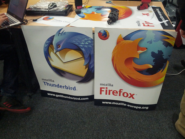 Firefox and Thunderbird booth