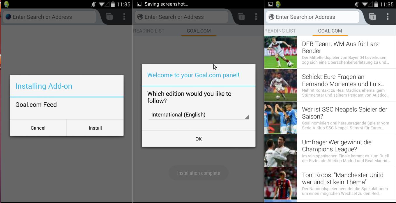 Goal.com Panel