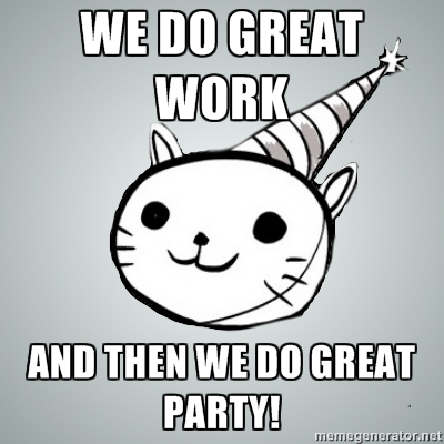 party cat