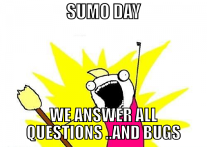 Sumo bug day