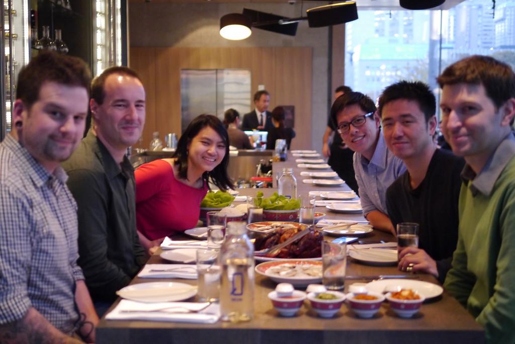 Toronto Team Dinner