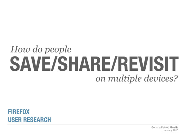 Save Share Revisit