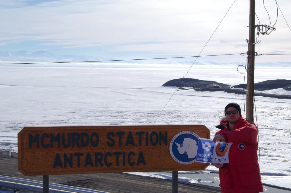Mozilla Antarctica