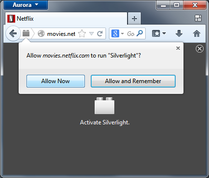 Click-to-activate UI