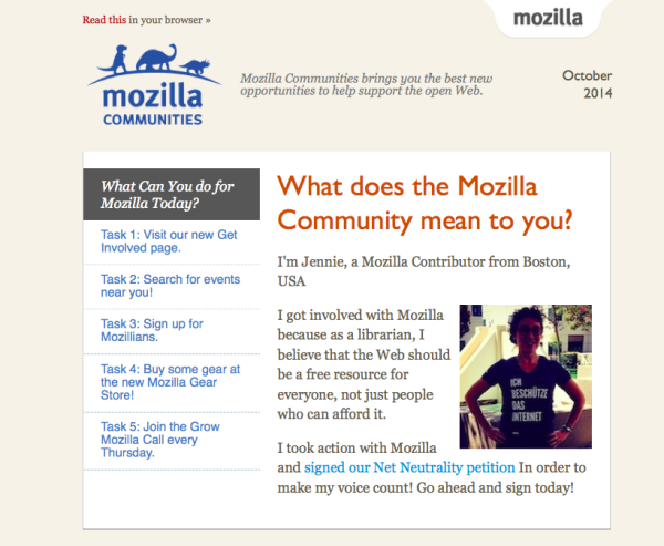 Mozilla Communities