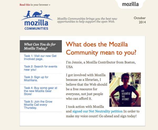 Mozilla Communities