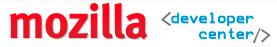 Wordmark for Mozilla Developer Center