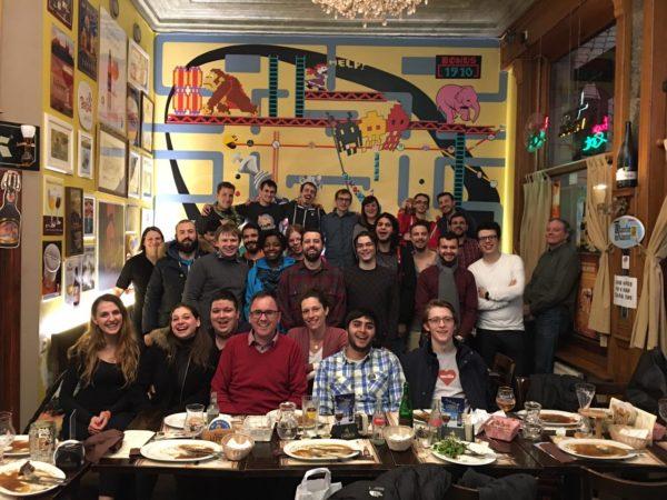 our volunteers at FOSDEM 2017