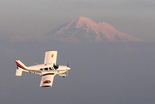 Agent Teren's plane
