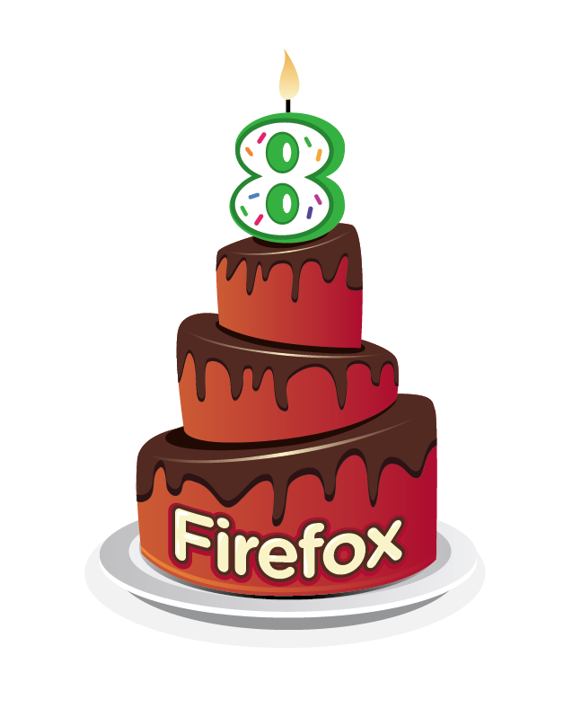 FIrefox turns 8