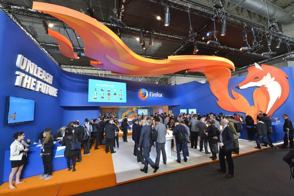 Day One on the Firefox stand at MWC 2014