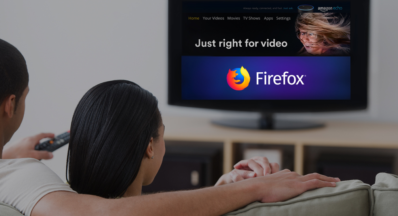 Get Firefox on your Amazon Fire TV, now with Turbo Mode