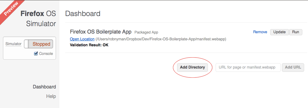 How to install packaged apps in Firefox OS - options and tools