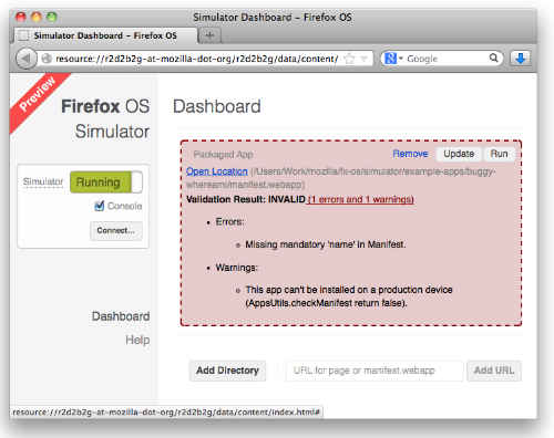 Firefox OS Simulator 3 0 released - Mozilla Hacks - the Web