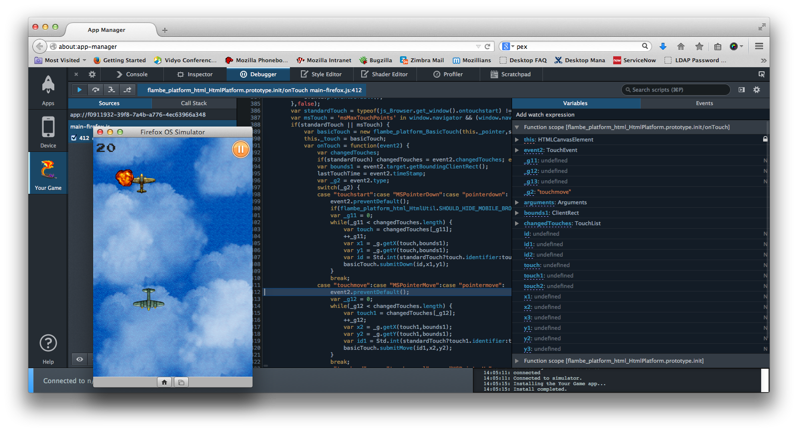 Flambe Provides Support For Firefox OS - Mozilla Hacks - the Web