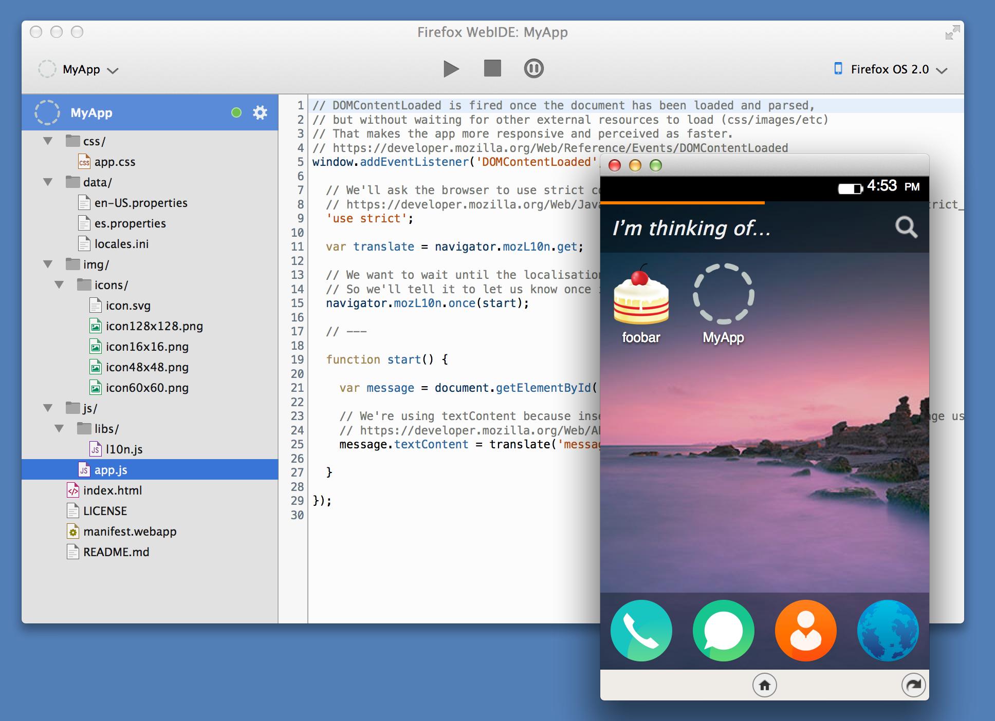 WebIDE Lands in Nightly - Mozilla Hacks - the Web developer blog