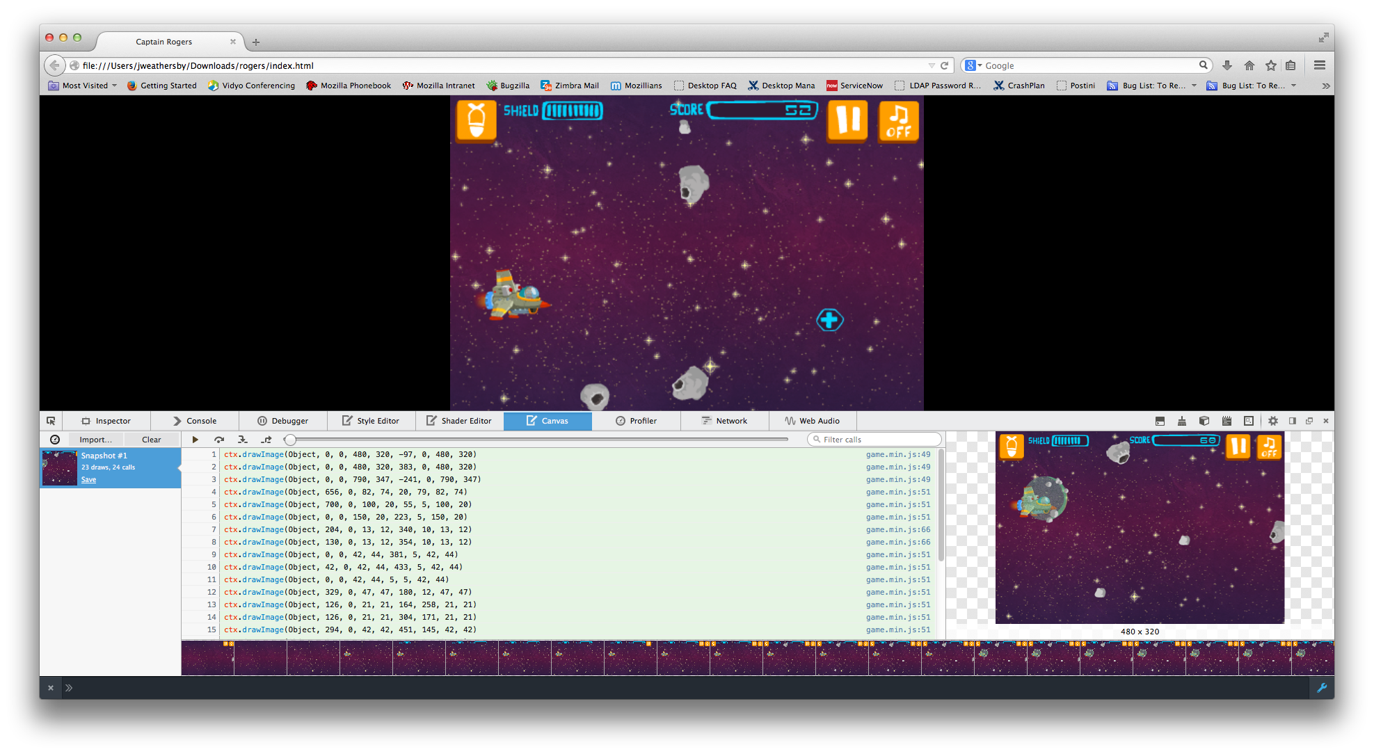 Resources for HTML5 game developers - Mozilla Hacks - the