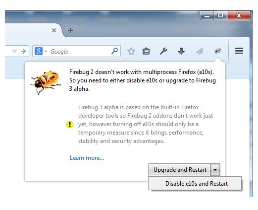 Firebug 3 & Multiprocess Firefox (e10s) - Mozilla Hacks - the Web
