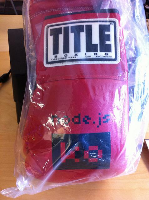 Node.js boxing gloves