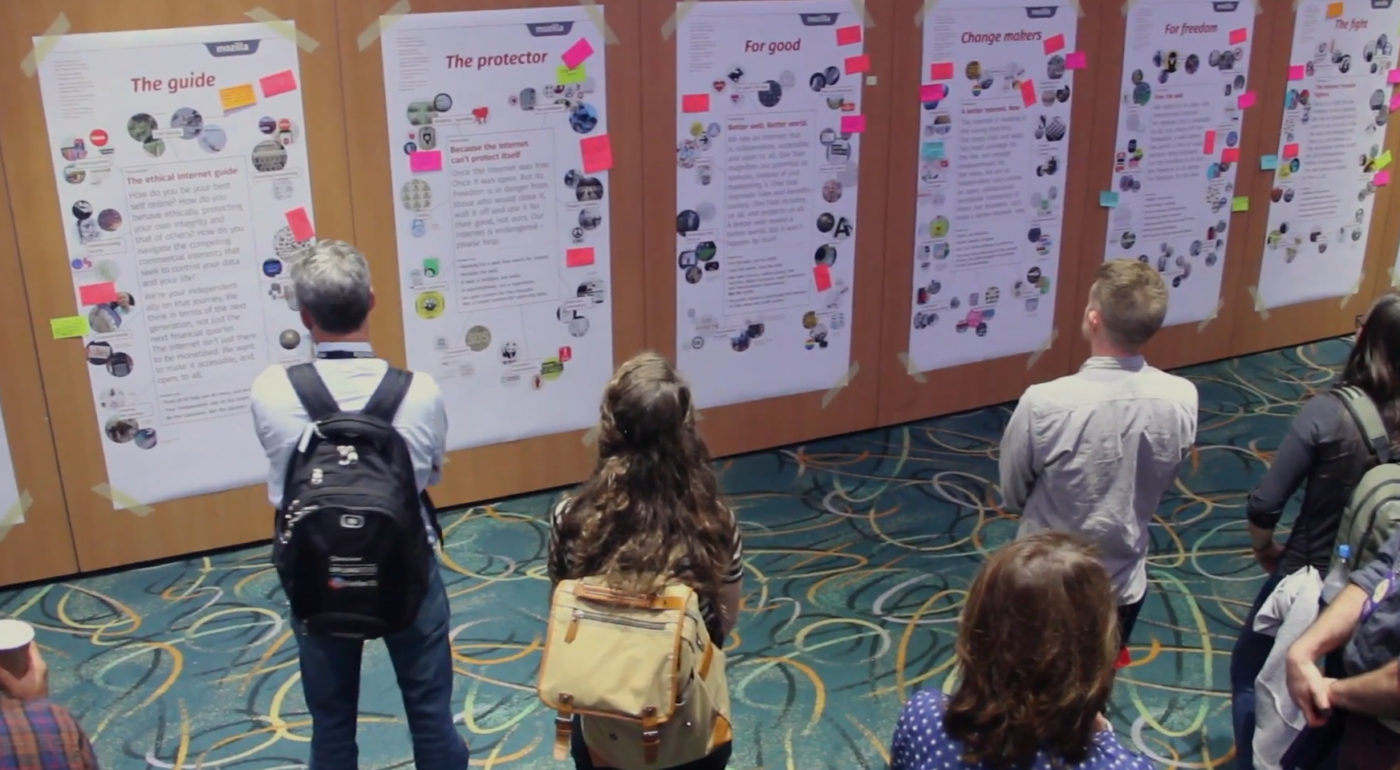 Creative Strategy On View - Mozilla Open Design