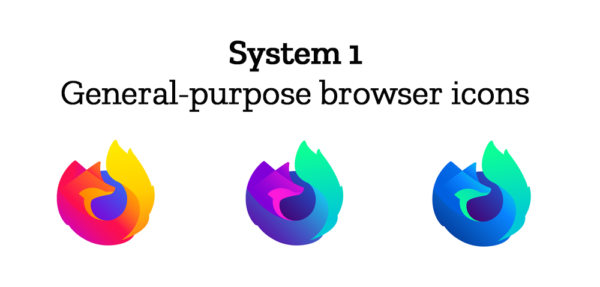 System 1: General-purpose browser icons