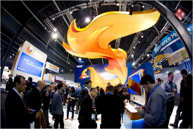 Mozilla Firefox Booth