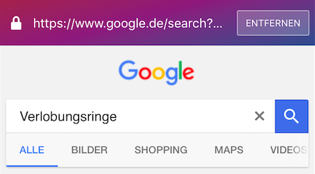 klar_search_german