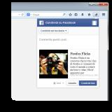 Condivisione su Facebook