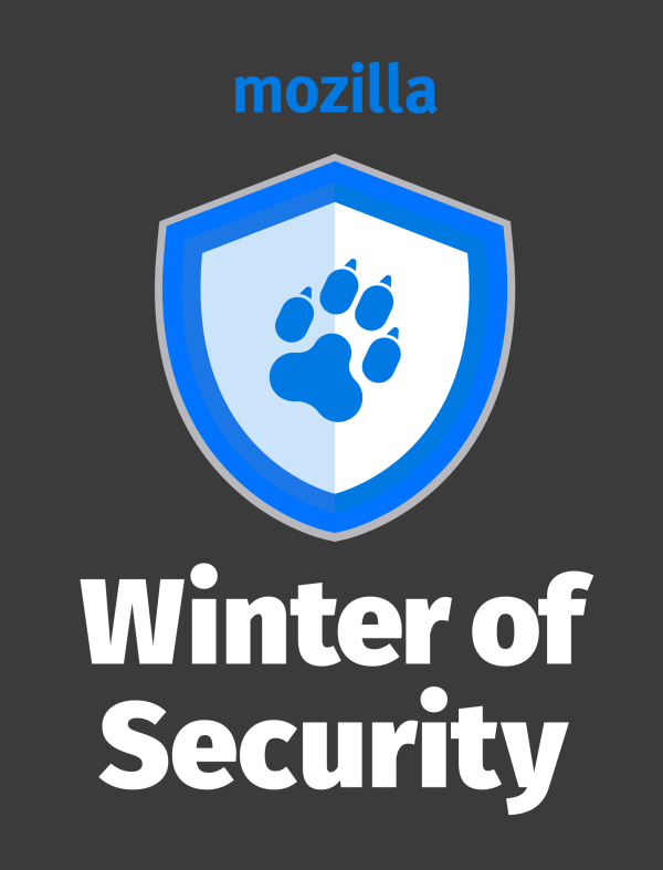 Mozilla Winter of Security のロゴ