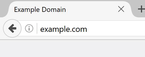 非 HTTPS 時の従来表示