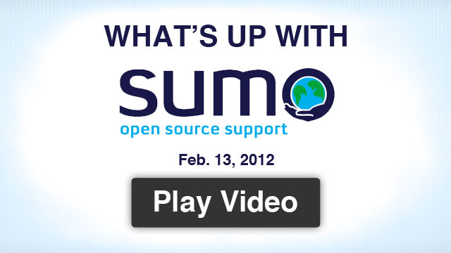 What's Up With SUMO - Feb 13, 2012