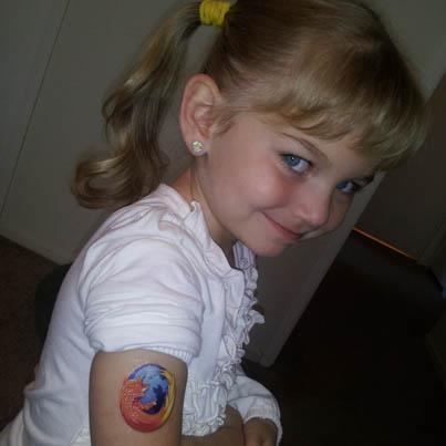 Mini Firefox fan