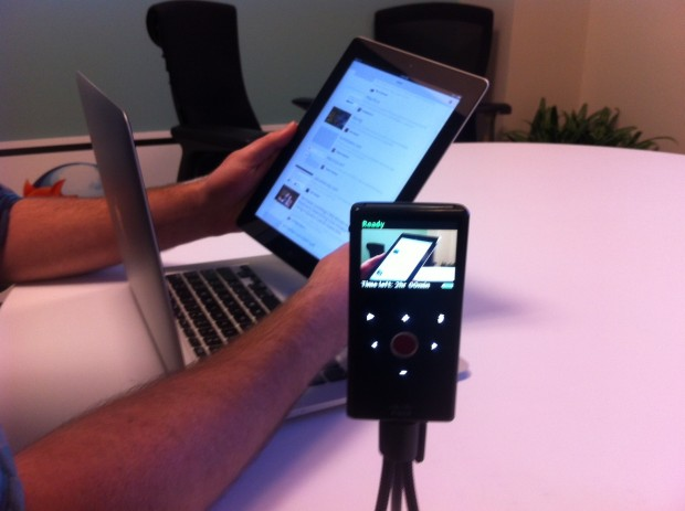 Tablet remote usability testing at Mozilla